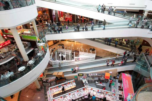 Massive Dundrum Town Centre mall attracts about 19 million shoppers per year