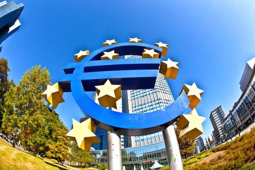 European Central Bank HQ in Frankfurt – the eurozone has continued to experience impressive growth
