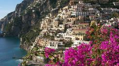 The dolce vita on the Amalfi coast — but the Celtic Tiger burst along with the Prosecco bubbles