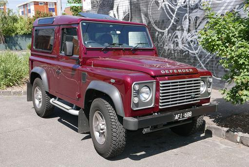 The Land Rover Defender that Ratcliffe hopes to emulate