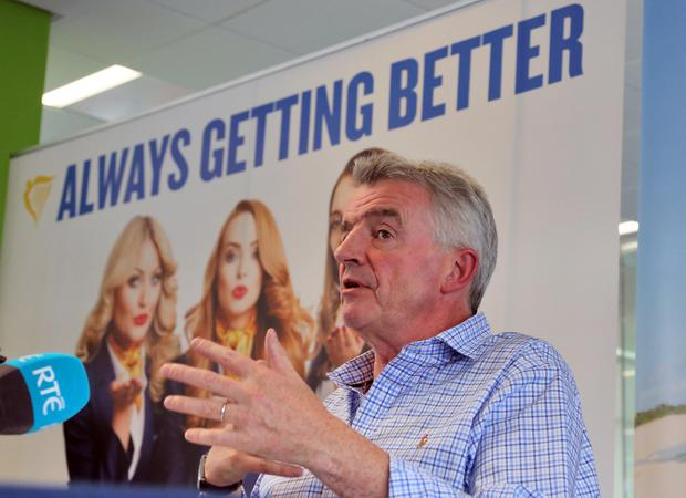 Ryanair chief executive Michael O'Leary Photo: Colin Keegan
