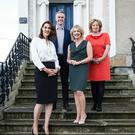 Gina Miltiadou, John Mullins, Annette Burns Young, Olive Fogarty of the newly-merged entity, Zahra Media Group