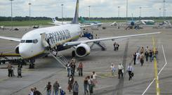 As Ryanair pilots in Dublin have been urged to join the Irish Airline Pilots' Association, their colleagues in Italy have been called to a meeting of major trade union Uiltrasporti today