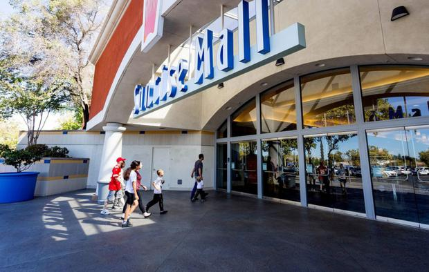Proposed changes to the Sunrise Mall in northern California have been held up by its major tenants