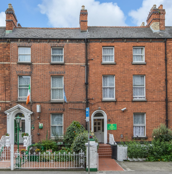 Marian Guest House on Gardiner Street, near the city centre