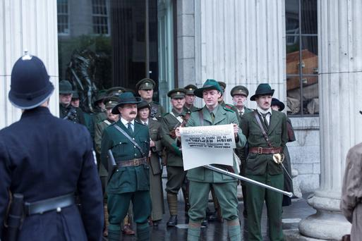 RTE said the fees proposal would allow it to reinvest in original Irish content, such as historical drama mini-series Rebellion