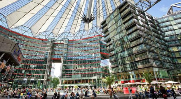 €1.1bn deal agreed for Sony Centre plaza in Berlin