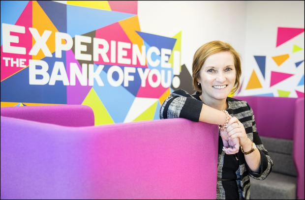 KBC's Dara Deering says speeding up the time it takes to open an account is crucial as the bank embraces technology. Picture: David Conachy