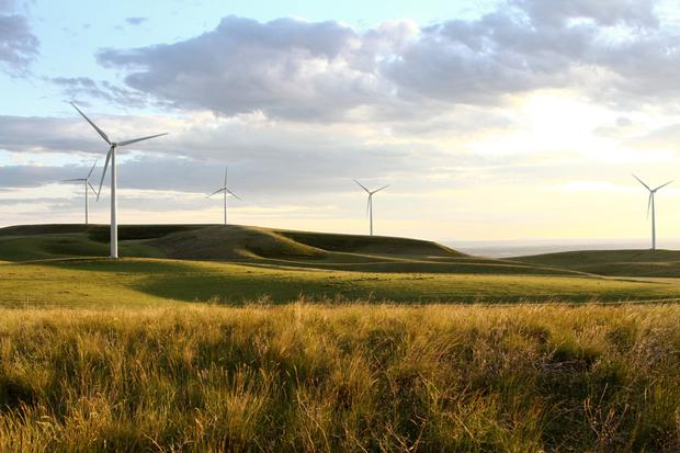 When construction is finished Ballycumber Wind Farm will generate power for the equivalent of 11,700 homes. Stock image