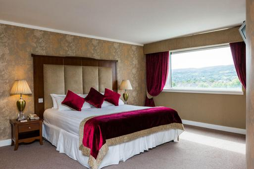 One of the Clonmel Park Hotel's 99 bedrooms