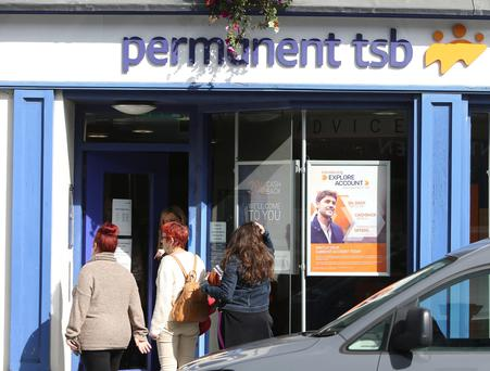 PTSB embarked on a roadshow for its €500m refinancing Photo: Damien Eagers