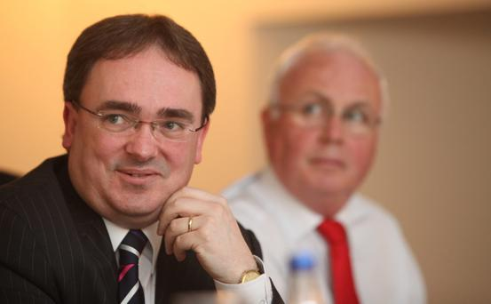 Nama chiefs Brendan McDonagh and Frank Daly may yet have a role to play in the Government's proposed housing finance agency. Photo: Gareth Chaney