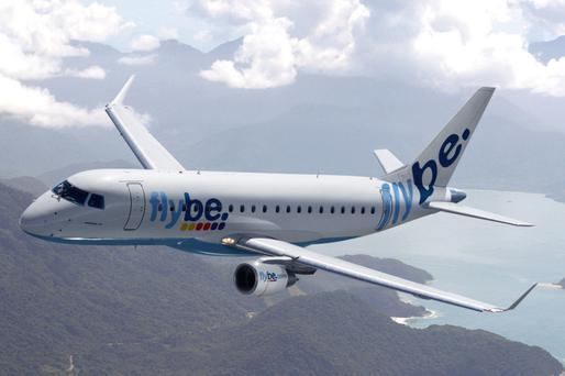 Flybe uses a variety of passenger planes, including the Embraer E175