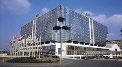 The Hilton Hotel in Prague was bought by Sean Quinn in 2004 for €145m