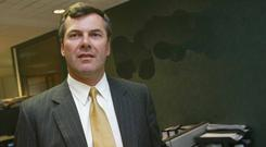 Conor Killeen — pictured at the NCB offices in 2003 — was a director of the Quinn Group from 2004 until 2008