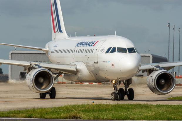 Benedicte Duval, Air France-KLM's general manager for the UK and Ireland, says the French airline is testing the waters with Airbus A318s here. Photo: Christophe Leroux Air France