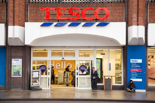 Tesco now has a 22pc share of the Irish grocery market