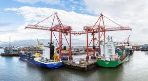 Dublin Port has seen five years of growth with volumes surging more than 30pc as the economy returns to health