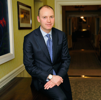 AerCap boss Aengus Kelly presided over total revenue of $5bn. Photo: Bloomberg