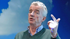 Ryanair CEO Michael O'Leary – the airline releases first-half results on Tuesday and will be quizzed by analysts and investors about continuing pilot unrest over terms and conditions. Photo: Bloomberg