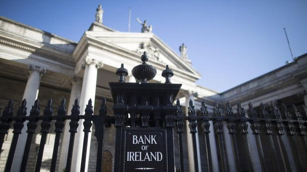 'Bank of Ireland's core capital ratio – a key measure of financial strength – increased by 30 basis points over the past three months to 12.8pc.'