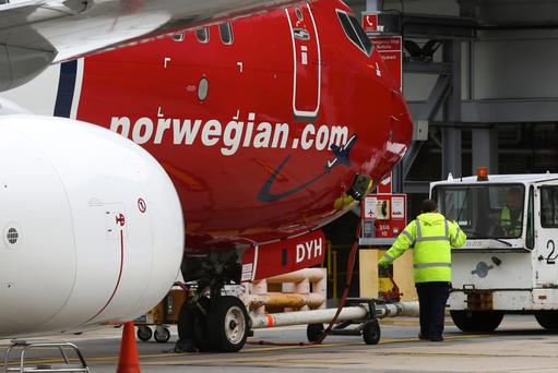 "Norwegian, which launched flights between Ireland and the United States during the summer, said that its third quarter was ""characterised by strong international passenger growth and a high load factor, as well as fleet growth and renewal"". Photo: Bloomberg"