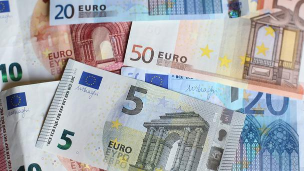 'The cumulative sum of money involved has fallen from €51.1bn to €22.6bn' (stock photo)