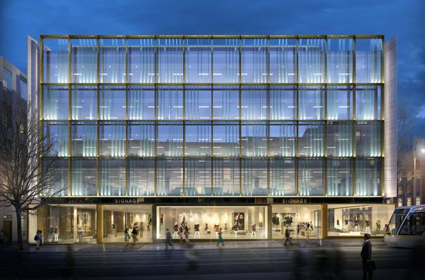 An artist's impression of the One Molesworth Street building
