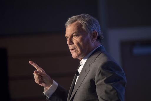 WPP boss Martin Sorrell. Photo: Bloomberg