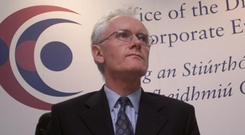 Paul Appleby, the former director of Corporate Enforcement, who led the Ansbacher probe