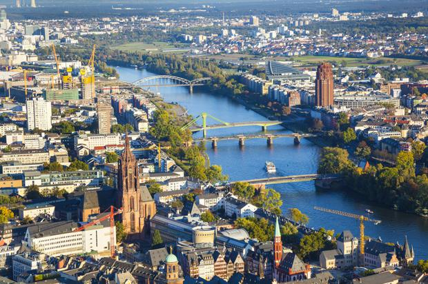 While competition for office space in Frankfurt is intense, the city's attractiveness is being challenged by an acute housing shortage