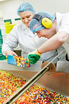 Last year, 2,600 tonnes of sweets were produced at the Dublin plant