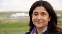 Flybe chief executive Christine Ourmieres-Widener said the airline had made 'good progress'
