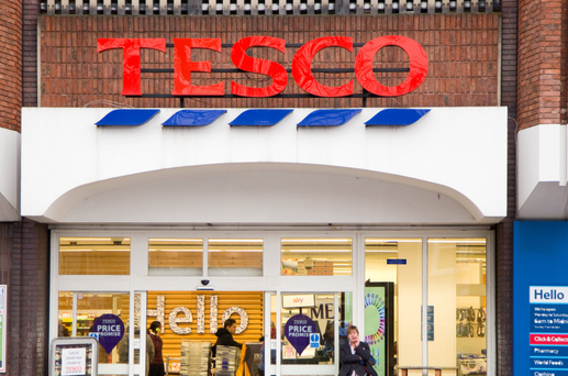 Seventy of the new digital screens will be rolled out to Tesco stores across the country (stock pic)