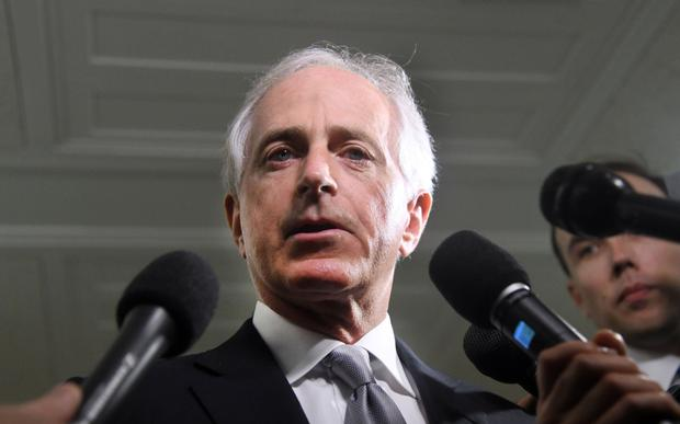 'Senator Bob Corker, pictured, who has commented on a wide range of issues since announcing that he won't seek re-election to the Senate in 2018, has stated publicly that