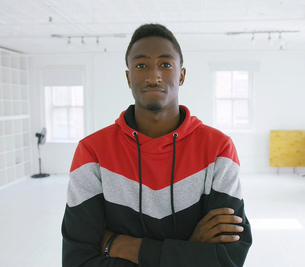Marques Brownlee, a 23-year-old tech blogger, with over five million subscribers on YouTube.