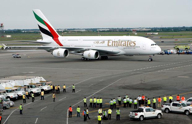 Revenue at international aviation company Emirates Group has risen by 6pc to $13.5bn