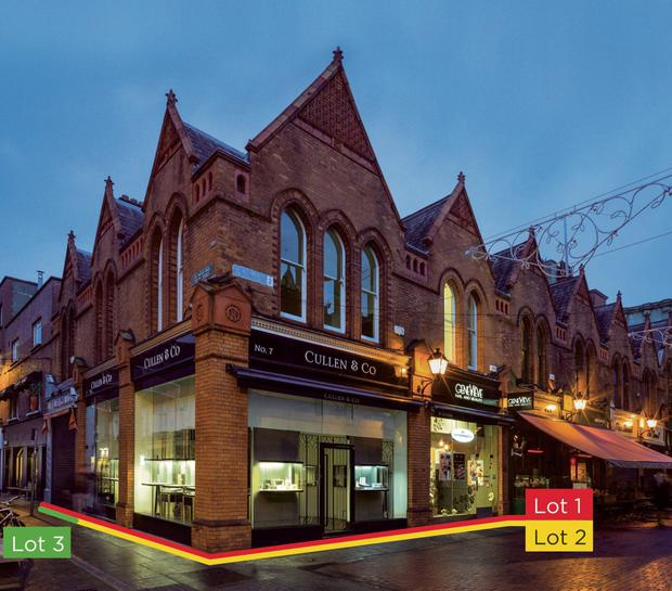The Castlemarket portfolio offers a gross initial yield of 5.63pc