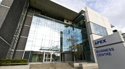 HWBC is offering three units at the Apex Business Centre in Sandyford for a combined price of €1.95m