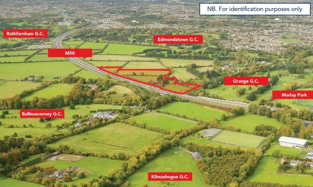 A 10.71 acre site in Rathfarnham, south county Dublin sold for its €2.75m guide