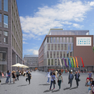 An artist's impression of the city's 'Opera Centre' development