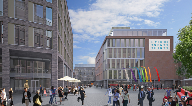 Limerick secures EU funds for multi-million euro office project