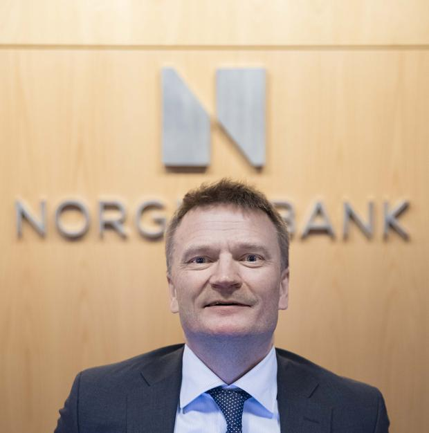 Egil Matsen, deputy governor of the Norges Bank, Norway's central bank, who's in charge of overseeing the fund. The oil-rich nation has the world's most important investment fund, and controls about 1.5pc of global stocks