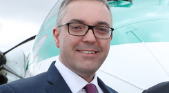 Graeme Buchanan, managing director of Stobart Air, which operates the Dublin to London Southend route on behalf of British carrier Flybe. Photo: Maxwells Dublin