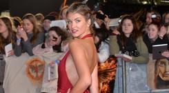 British TV personality Amy Willerton has spoken about using Slendertone in the past. Photo: Anthony Harvey