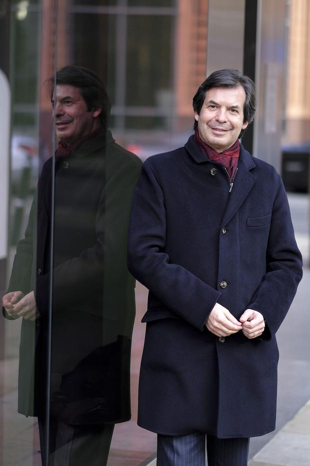Carlo Messina, chief executive officer of Italy's Intesa Sanpaolo which admitted the breaches. Photo: Bloomberg
