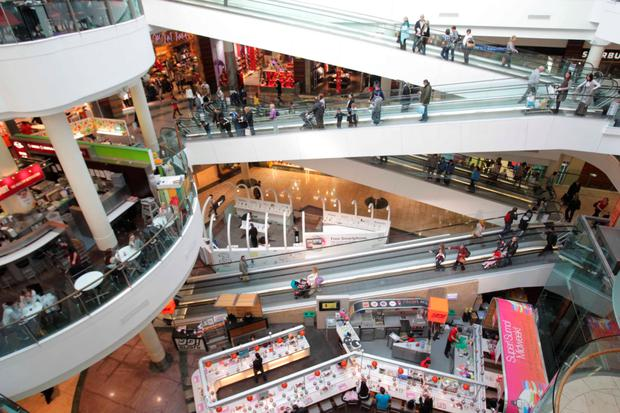 Hammerson owns Dundrum Town Centre equally with German insurer Allianz