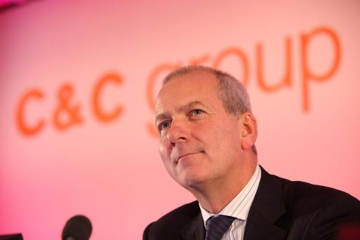 Stephen Glancey, the chief executive of the C&C Group