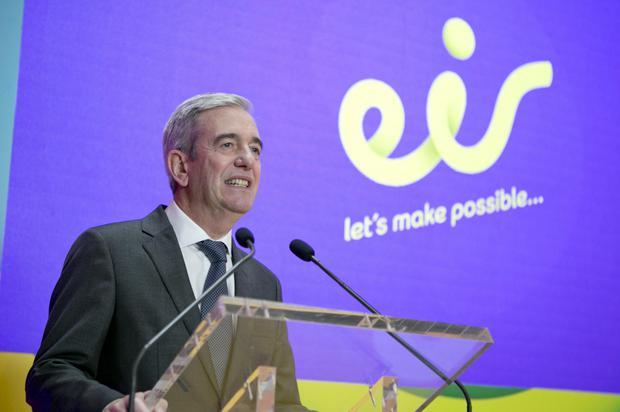 Richard Moat took over as Eir's chief executive in 2014