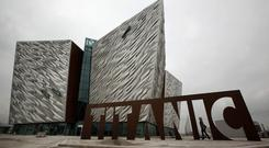 The Titanic Quarter in Belfast was drawn up by Harcourt. Photo: Getty Images